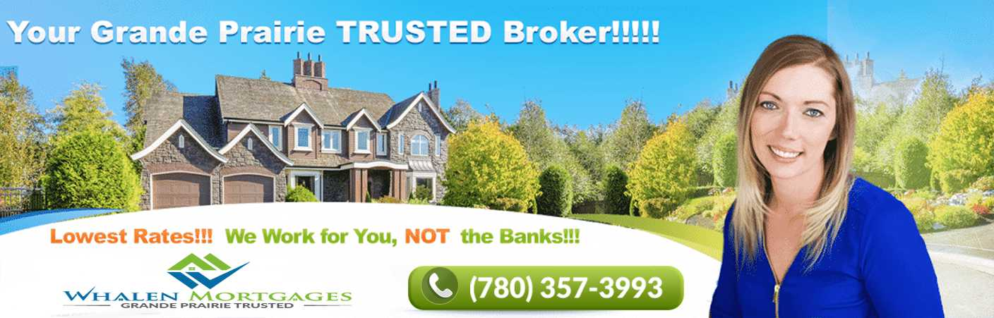 Grande Prairie Mortgage Broker : Rates